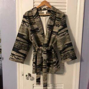 H&M kimono-style blazer, from Japan.